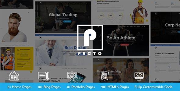 Pecto - Multipurpose HTML5 Template