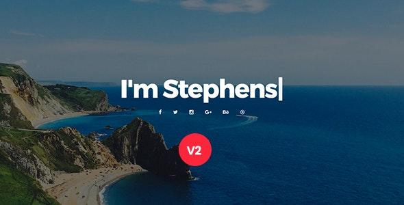 Personal Portfolio Template - Stephens - Portfolio Creative