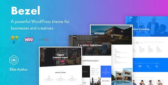 Bezel - Creative Multi-Purpose WordPress Theme - Creative WordPress