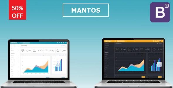 Mantos - Responsive Bootstrap 4 Admin Template - Admin Templates Site Templates