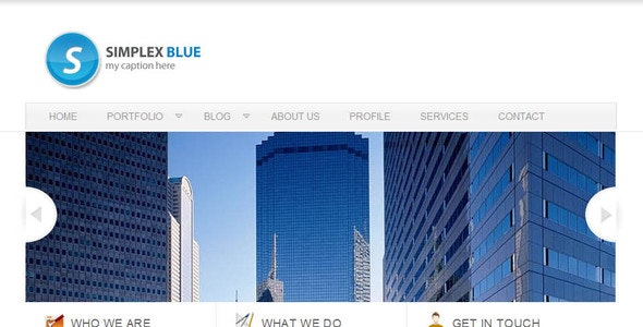 Simplex - Clean Theme - Corporate Site Templates