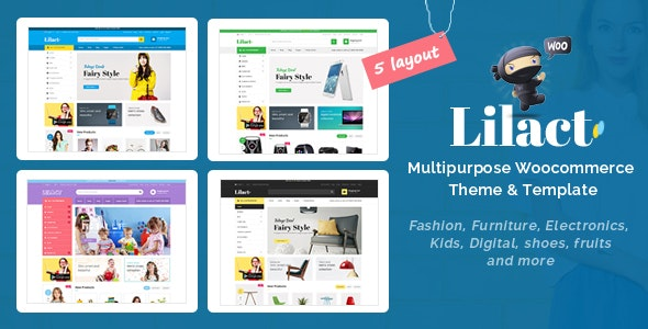 Lilac - Fashion Responsive WooCommerce WordPress Theme - WooCommerce eCommerce