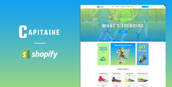 Capitaine – Responsive Shopify Theme - Miscellaneous Shopify