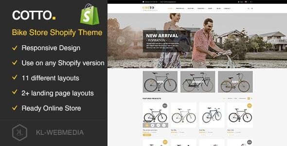 Cotto - Bike Store Shopify Theme - Shopping Shopify