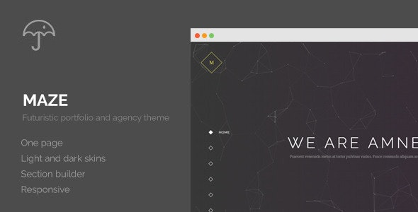 Maze - Creative Agency Portfolio WordPress Theme - Creative WordPress