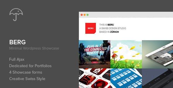 Berg - WordPress Portfolio Theme
