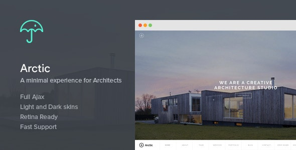 Arctic - Architecture & Creatives WordPress Theme - Creative WordPress