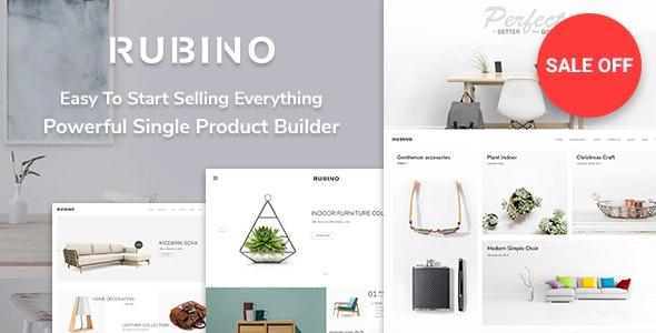 Rubino - Minimal & Creative WooCommerce Theme - WooCommerce eCommerce