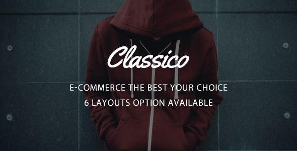 Classico - Responsive Prestashop 1.6, 1.7 Theme - Fashion PrestaShop