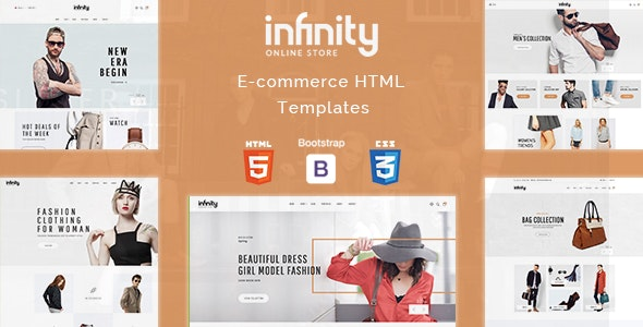 Infinity | Responsive Multipurpose Ecommerce HTML5 Template - Fashion Retail