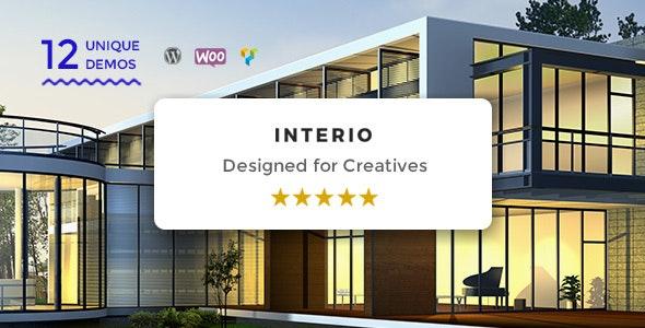 Interio | WordPress Architecture Theme - Portfolio Creative
