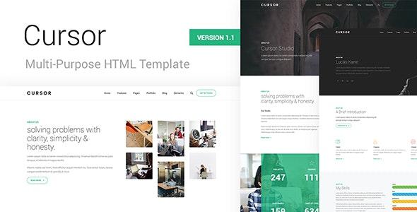 Cursor - Multi-Purpose HTML Template by locotheme | ThemeForest
