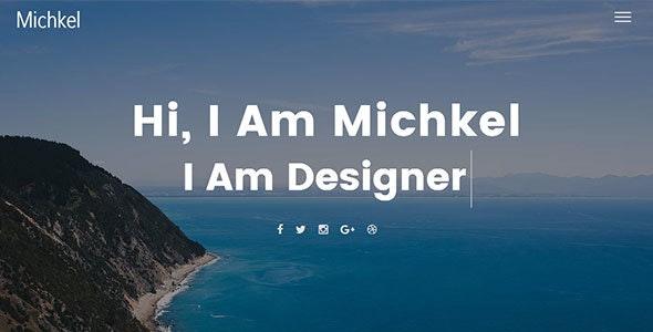 Mickhel – Creative Portfolio HTML Template - Portfolio Creative