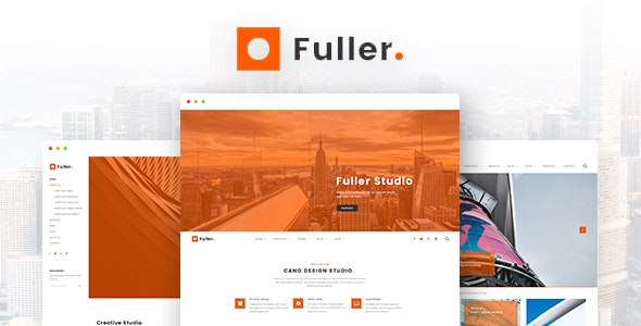 Fuller - Creative Portfolio, Resume & Agency WordPress Theme - Portfolio Creative