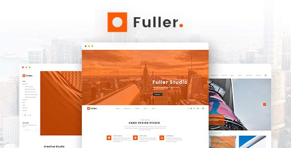Fuller - Creative Portfolio, Resume & Agency WordPress Theme - Portfolio Creative