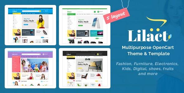 Lilac - Fashion Responsive OpenCart Theme - Shopping OpenCart