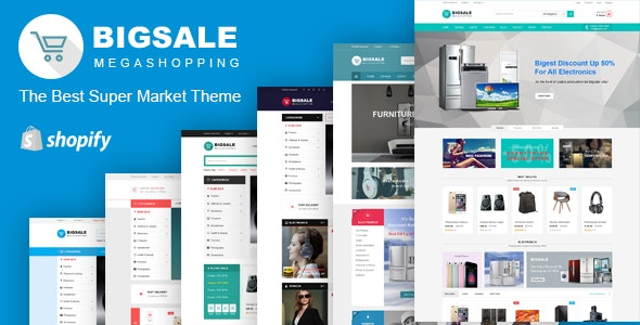 Bigsale – Responsive Ecommerce Shopify Template - Shopify eCommerce