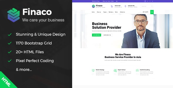 Fianco - Business Consulting and Professional Services HTML Template - Business Corporate