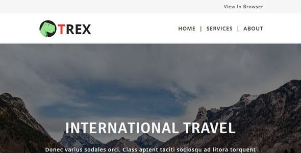 TREX - Multipurpose Responsive Email Pack