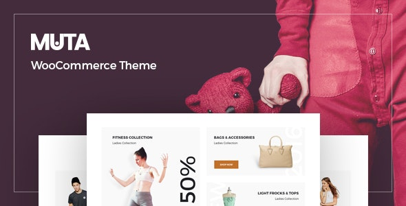 Muta - Clean, Multi-Purpose Responsive WooCommerce WP Theme - WooCommerce eCommerce