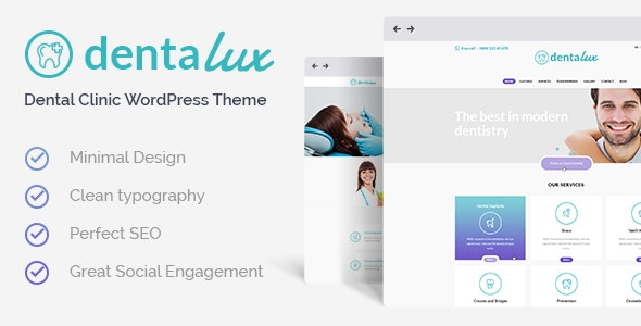 Dentalux | A Dentist Medical & Healthcare Doctor WordPress Theme - Health & Beauty Retail