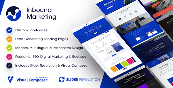 Inbound Marketing | Inbound, Landing Page WordPress Theme - Marketing Corporate
