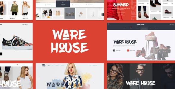 Warehouse - Multipurpose eCommerce WordPress theme