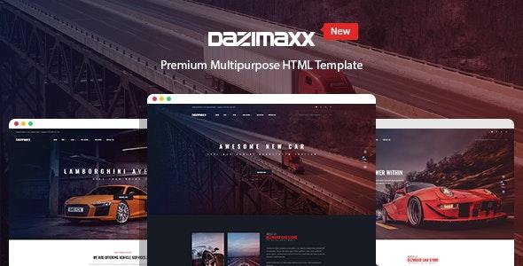 Car Dealer HTML Template - Dazimaxx - Business Corporate