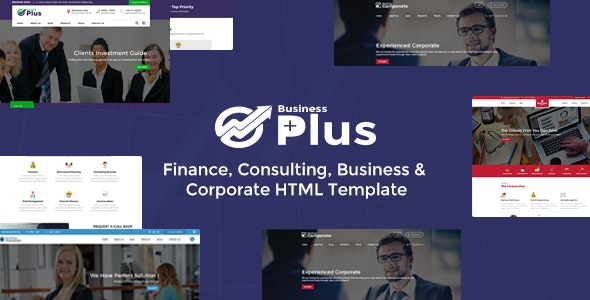 Business Plus HTML Theme - Finance Consultancy - Business Corporate