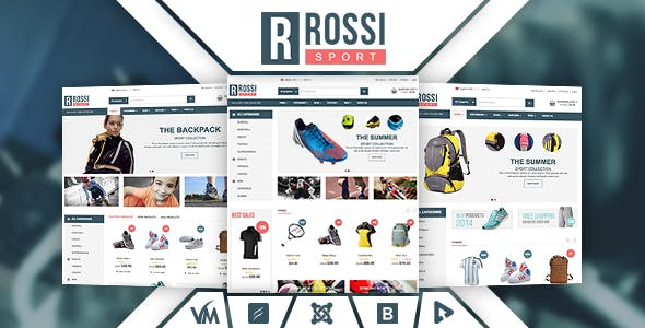 Vina Rossi - Responsive VirtueMart Joomla Template