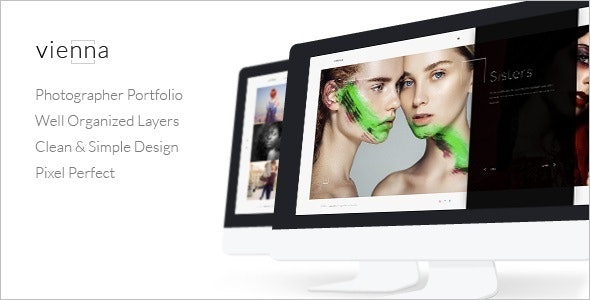 Vienna – Photography HTML Template - Photography Creative