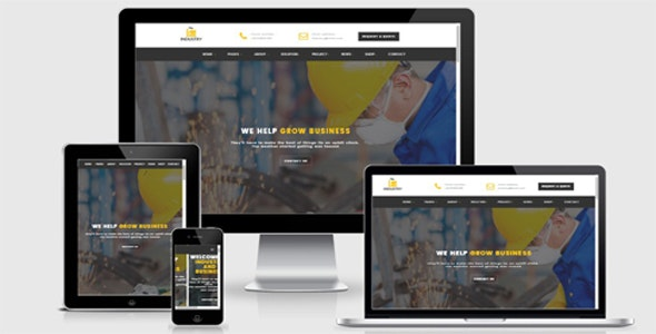 Industry- Factory Html Template - Business Corporate