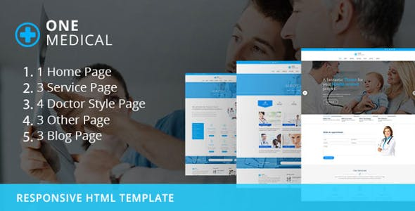 OneMedical - Responsive Bootstrap Template