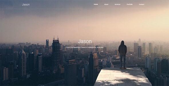 Jason - Responsive Portfolio Template - Portfolio Creative
