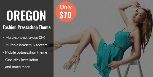 Oregon - Store eCommerce Responsive Prestashop Theme V1.7 - Fashion PrestaShop