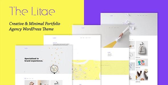 The Litae - Creative & Minimal Portfolio WordPress Theme - Creative WordPress