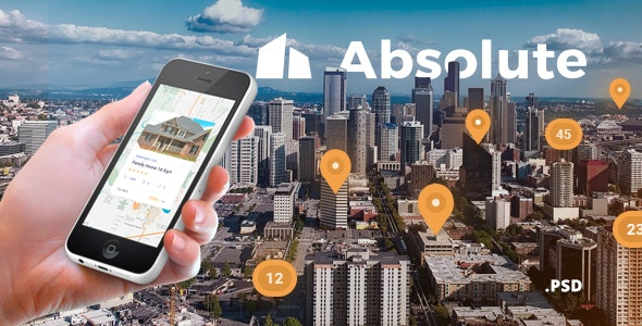 Absolute - Real Estate & Property Sales Responsive Template - Business Corporate