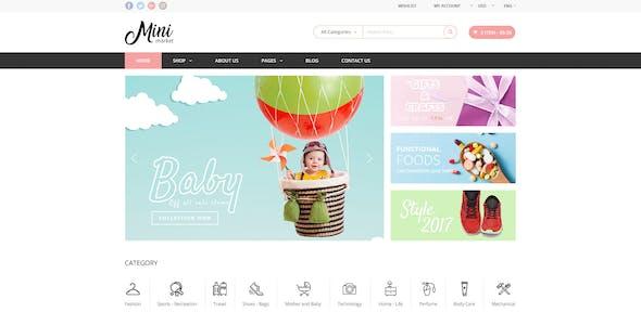 MiniMarket - Multi-Purpose Groceries PSD Template