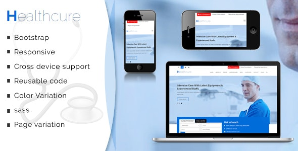 Healthcure – Medical and Health Multipurpose Template - Business Corporate