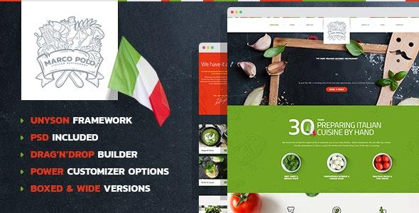 MarcoPolo - Restaurant and Food WordPress Theme - Food Retail