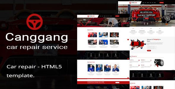 Canggang || Auto Mechanic & Car Repair Template