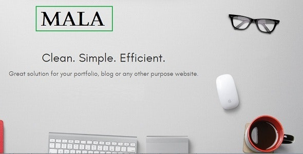 Mala | One Page HTML5 Template - Site Templates