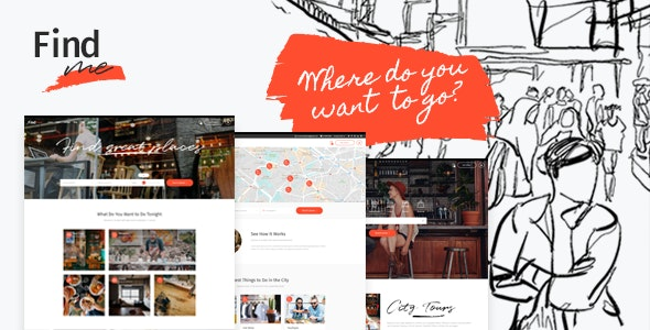FindMe - Directory Listing Theme - Directory & Listings Corporate