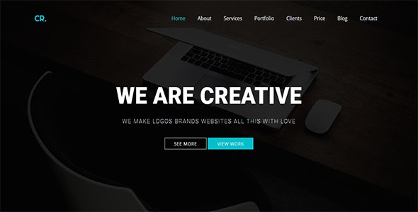 CR - Parallax One Page - Creative Site Templates