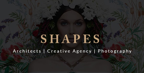 Shapes Creative Multipurpose HTML Template - Creative Site Templates