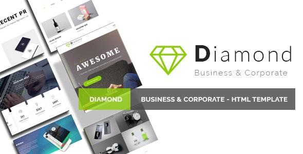 Diamond - Business & Corporate - HTML Template - Business Corporate