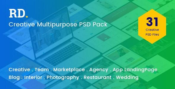 RD Multipurpose PSD Template - Corporate Photoshop