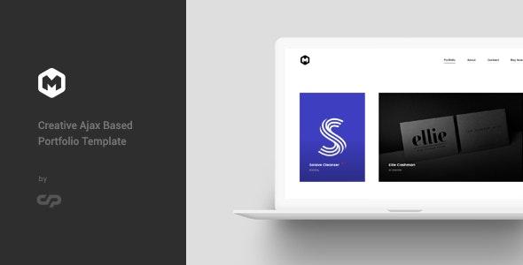 Maestro - Ajax Based Portfolio Template - Creative Site Templates