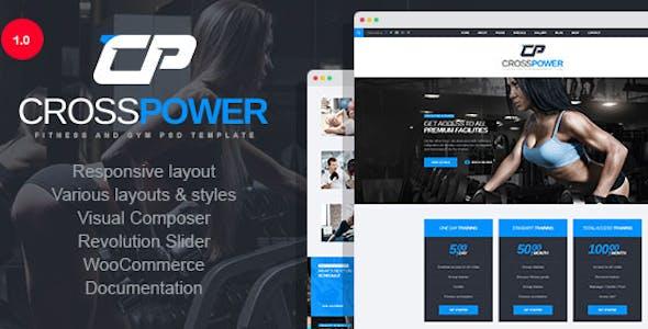 CrossPower | Sport WordPress Theme