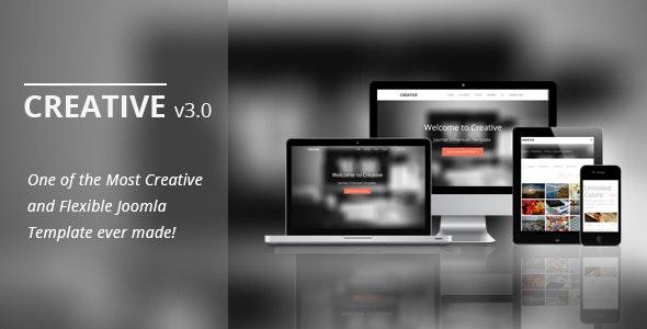 Creative - Responsive Joomla Template - Creative Joomla